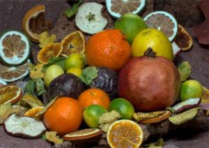 Listado alfbético de Frutas